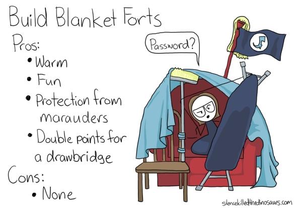 build blanket forts